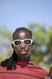 Masai man, Kiwengwa, Zanzibar, Tanzania Stock Images