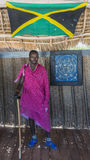 Masai man portraits Royalty Free Stock Images