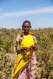 Masai Mara, Кения, Африка - 12-ое февраля 2010 Стоковое Фото