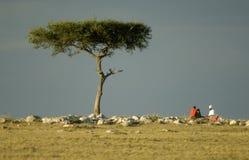 Masai mara Kenia stock fotografie