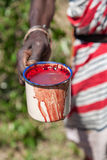 Masai Mara, Kenya, Africa - 12 febbraio 2010 Immagini Stock Libere da Diritti