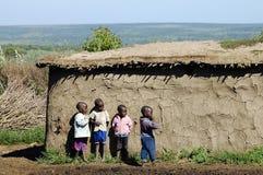 MASAI MARA, KENYA - November 25, 2008 Royaltyfri Foto