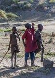 Masai Mara ono uśmiecha się Obrazy Stock