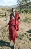 Masai Mara ono uśmiecha się Zdjęcie Stock
