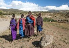 Masai mara smiling Royalty Free Stock Photography