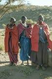 Masai mara smiling Royalty Free Stock Image