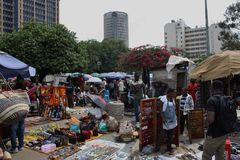 Masai Market in Nairobi. Stock Images