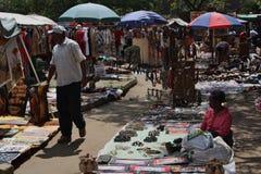 Masai Market in Nairobi. Stock Image