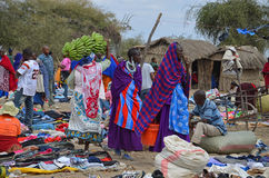 Masai market 3 Royalty Free Stock Photography