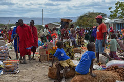 Masai market 2 Royalty Free Stock Photos