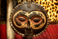 Masai Mask. Kenya africa ,tanzania Royalty Free Stock Images