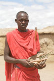 Masai medicine man Stock Image