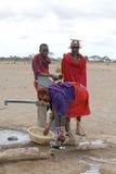 Masai men Royalty Free Stock Photos
