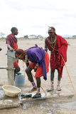 Masai men Stock Photo
