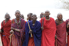 Masai men Royalty Free Stock Images