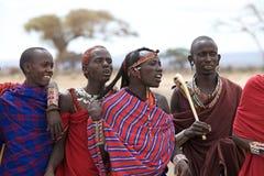 Masai men Royalty Free Stock Images