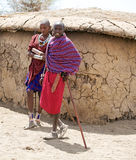 Masai men Royalty Free Stock Photos