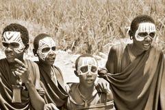 Masai men Royalty Free Stock Photo