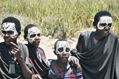 Masai men Stock Photography