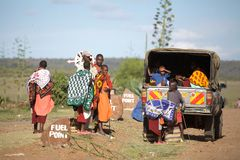 Masai people Stock Photo