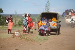 Masai people Stock Image