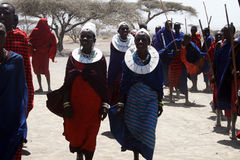 Masai people Royalty Free Stock Images