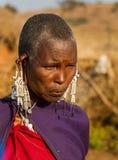 Masai pierwszy żona Obraz Royalty Free