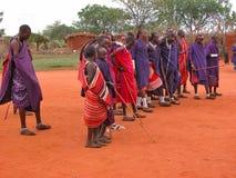 masai plemię Obrazy Stock