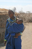 A masai portrait Royalty Free Stock Photo