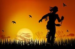 Masai sunset Royalty Free Stock Photography
