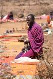 Masai trader Royalty Free Stock Images