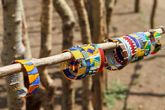 Masai traditional jewelry Royalty Free Stock Image