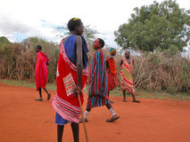 Masai tribe Royalty Free Stock Photos