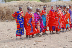 Masai tribe Stock Images