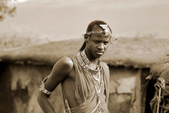 Masai tribe Stock Image
