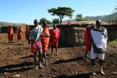Masai tribe, Kenya Stock Photos