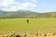 Masai tribe Tanzania Stock Photos