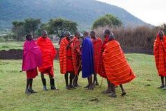 Masai tribesman Royalty Free Stock Photos