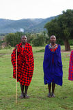 Masai tribesman Royalty Free Stock Photography