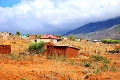 Masai village Tanzania Royalty Free Stock Photography