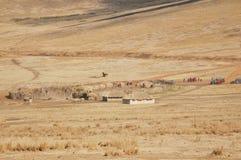 Masai village Stock Photography