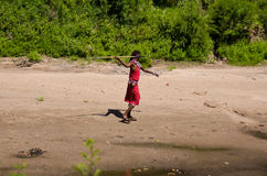 Masai warrior Stock Photo