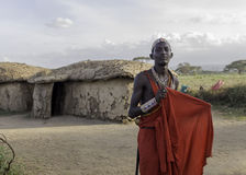 Maasai Warrior Royalty Free Stock Photos