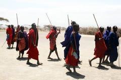 Masai warriors Royalty Free Stock Photography