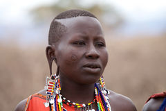 Masai woman Stock Photography