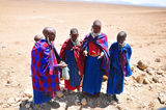 Masai woman Royalty Free Stock Images