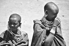 Masai woman Royalty Free Stock Photo