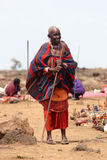 Masai woman Royalty Free Stock Image