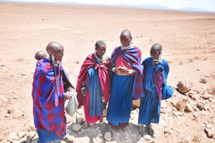 Masai woman Stock Photography