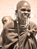 Masai woman Stock Images